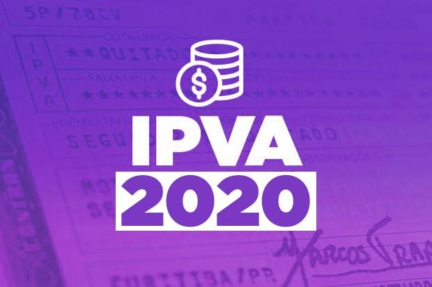 IPVA 2020  (Foto: Arte Autoesporte )