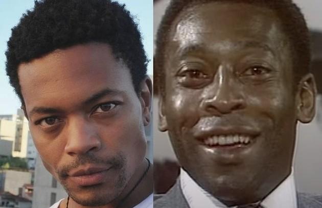 """O ator Demétrio Alves interpretará Pelé na segunda temporada da série """"El Presidente"""", da Amazon. As gravações vem ocorrendo no Uruguai (Foto: Reprodução)"""