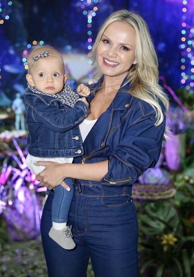 Eliana e Manuela (Foto: Manuela Scarpa/Brazil News)