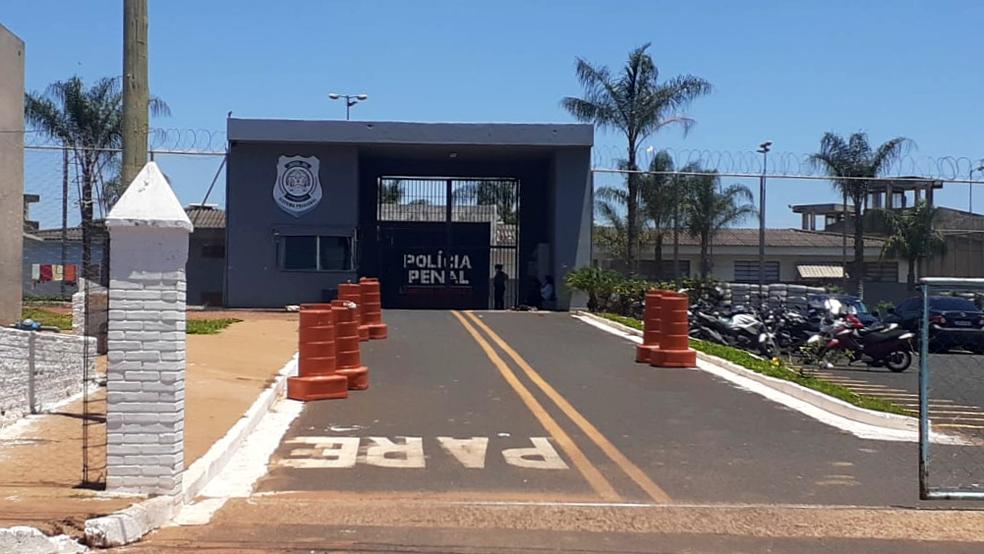 Penitenciária de Uberaba — Foto: Joyce Rodrigues/G1