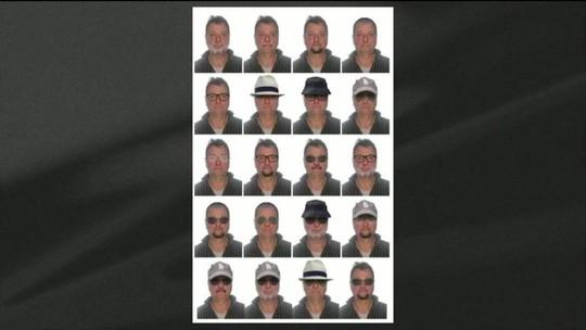 Polícia Federal divulga 'possíveis disfarces' de Battisti