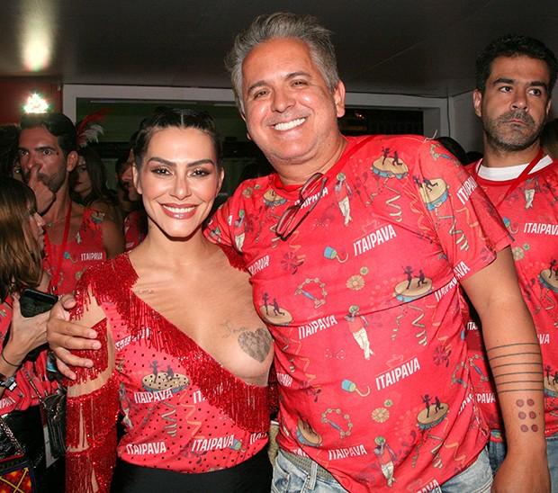 Cleo Pires e Orlando Morais (Foto: Cleomir Tavares/ Divulgação)