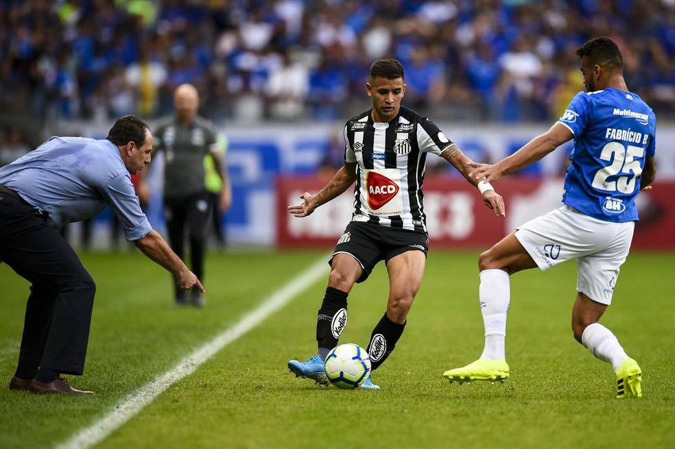 Rogério Ceni gostou do que viu em sua estreia como treinador do Cruzeiro — Foto: Twitter/Mineirão