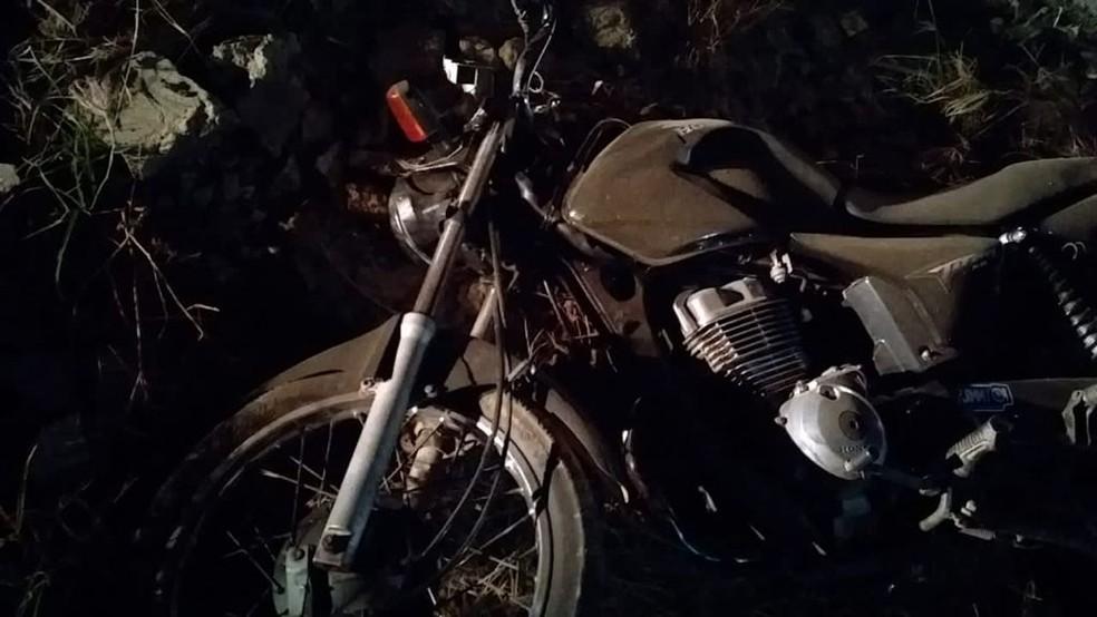 Acidente de moto em Passira — Foto: WhatsApp/Reprodução