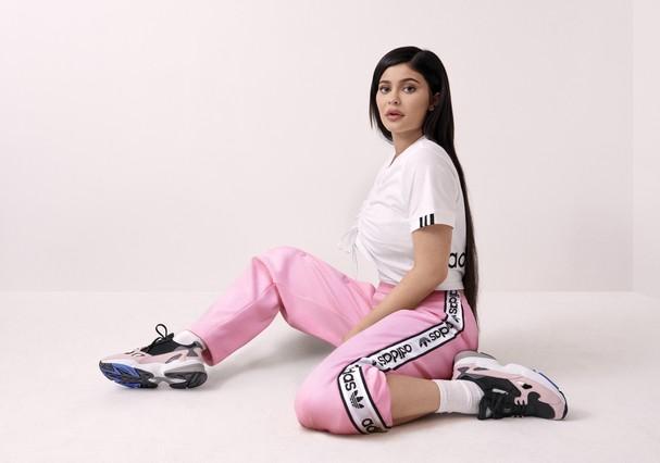 Kylie Jenner para adidas Originals (Foto: Divulgação)