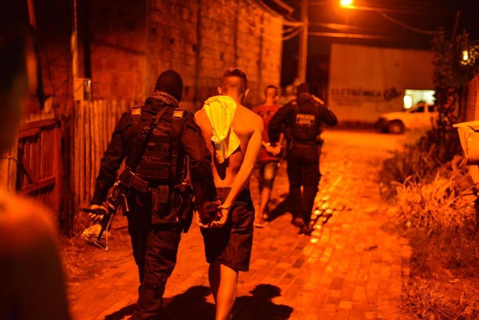 Polícia também cumpriu vários mandados durante janeiro, fevereiro e março deste ano — Foto: Divulgação/Sesp-Ac