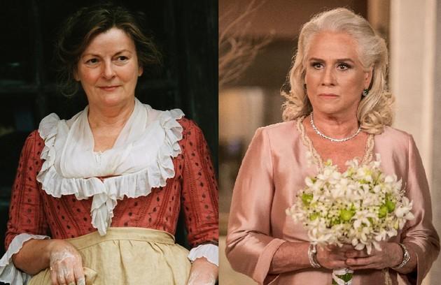 Vera Holtz interpretará a matriarca da família principal da história que deseja casar as suas cinco filhas. No cinema, a personagem foi de Brenda Blethyn (Foto: Reprodução)