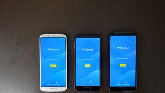 Do Moto G5 ao Moto G6: o que muda na câmera, tela e ficha técnica