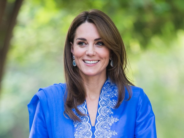 Kate Middleton azul royal (Foto: GettyImages)