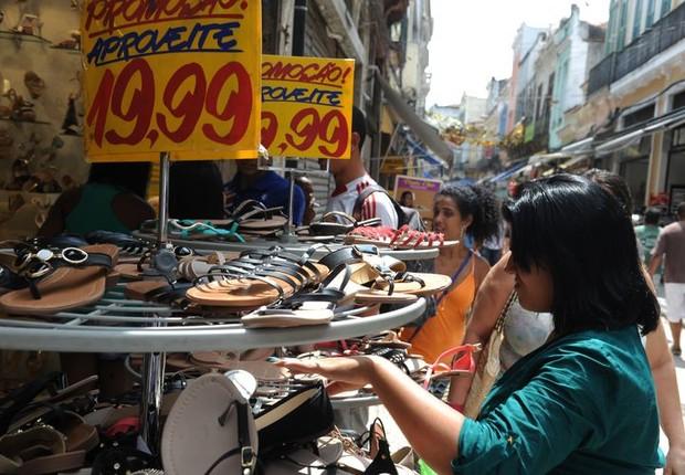 Redução da inflação estimula o consumo (Foto: Arquivo/Agência Brasil)