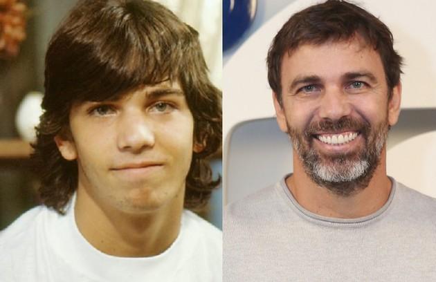 Aos 18 anos, Marcelo Faria viveu o surfista Elvis na trama de 1989. O ator esteve recentemente na novela 'Bom sucesso' (Foto: Globo)