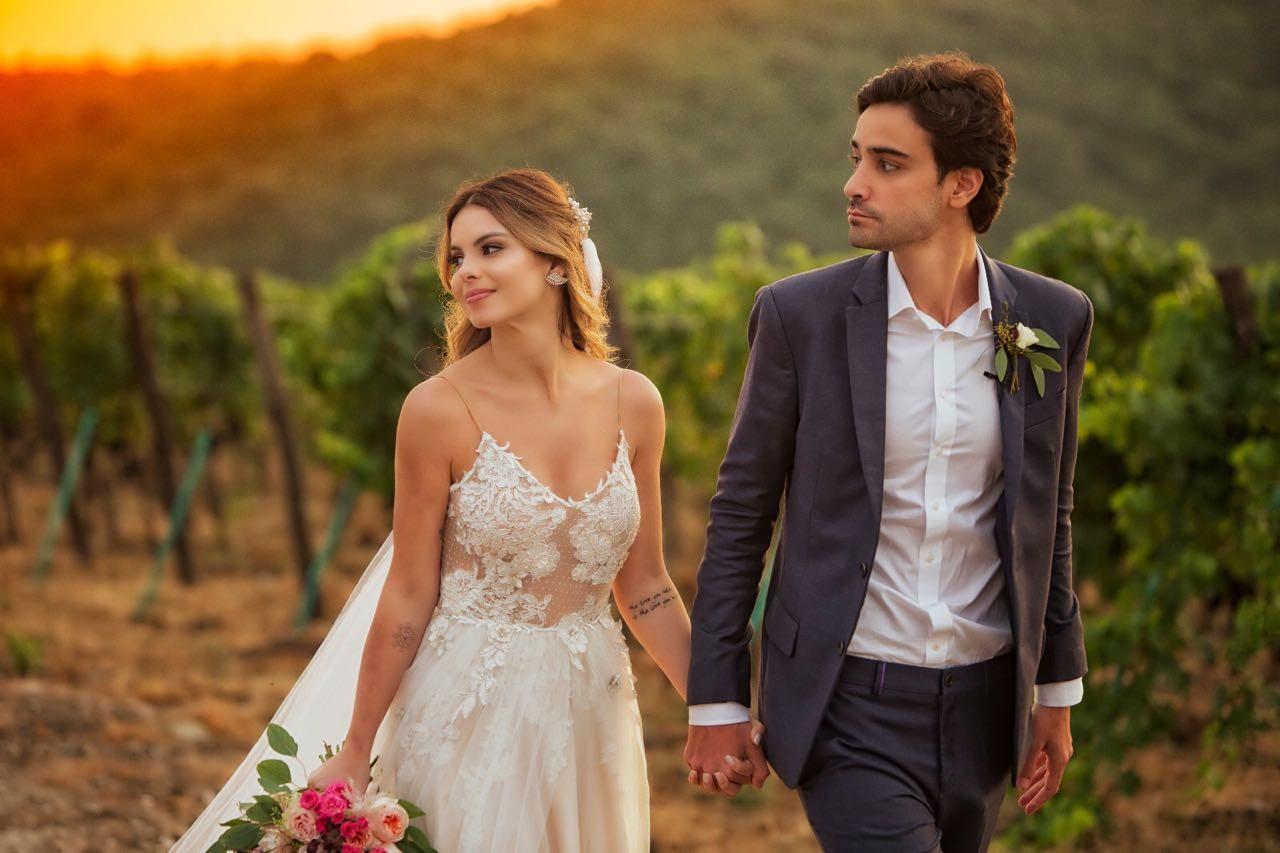 Sthefany Brito se Casa Na Itália Numa Cerimônia Intimista | Psiu Noiva