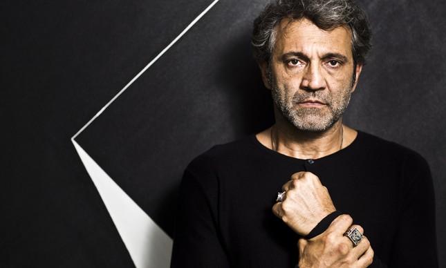 O ator Domingos Montagner em imagem de agosto de 2016