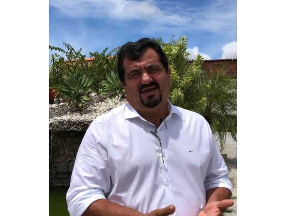 Aldo Lira, prefeito de Estrela de Alagoas — Foto: Reprodução/Instagram