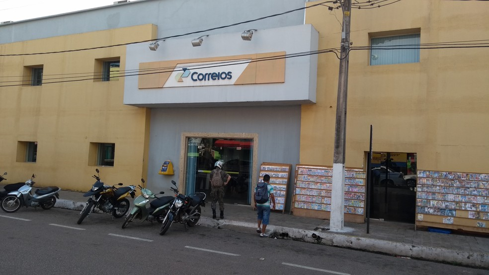 Agência dos Correios em Rondônia (Foto: Toni Francis/G1)