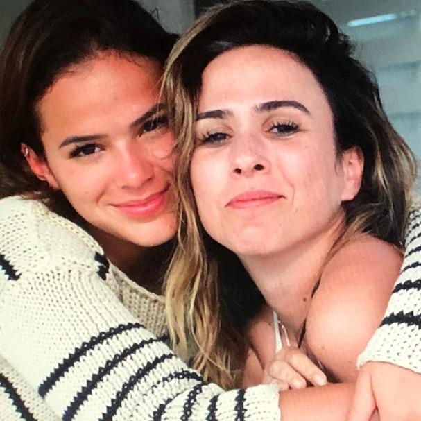 Bruna Marquezine e Tatá Werneck (Foto: Reprodução Instagram)