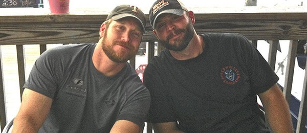 Chris Kyle e Eddie Ray Routh (Foto: Facebook)