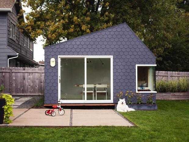 Home office no quintal: 15 projetos para inspirar (Foto: Reprodução / Instagram @hgaarchitects)