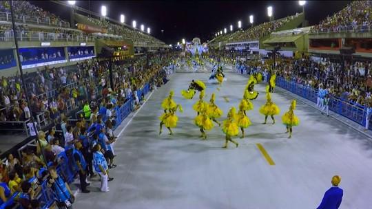 Alegria da Zona Sul, Viradouro e Estácio de Sá brilham no 1º dia de desfiles da Série A no Rio
