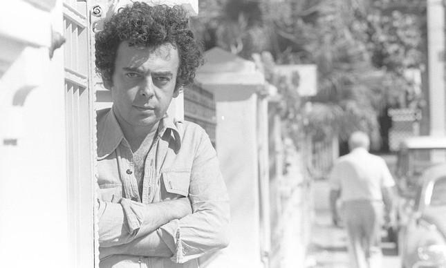 Glauber em imagem de agosto de 1978