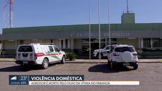 Violência doméstica acaba na morte do agressor