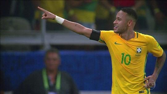 Estatística aponta: Neymar passaria Pelé na artilharia da Seleção em 2023