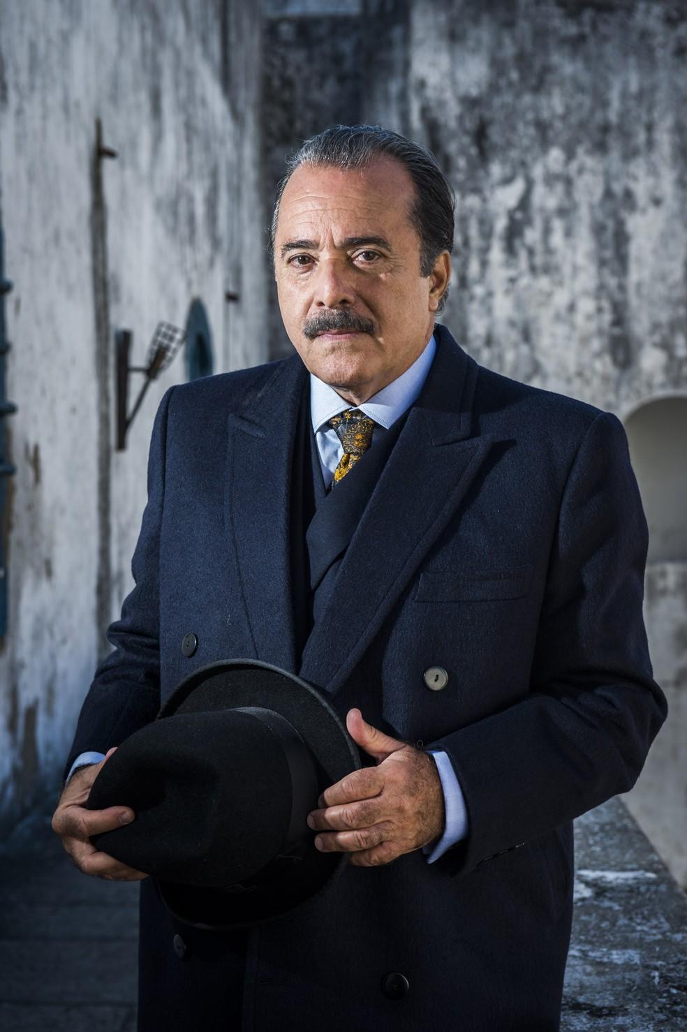 José Augusto ( Tony Ramos ) (Foto: João Miguel Júnior/ TV Globo)