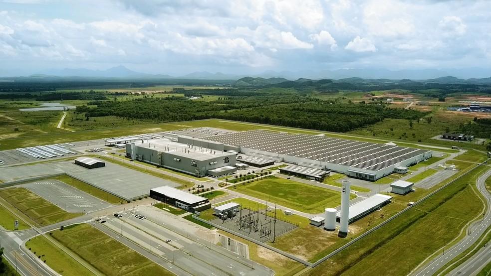 BMW em Araquari — Foto: Prefeitura de Araquari