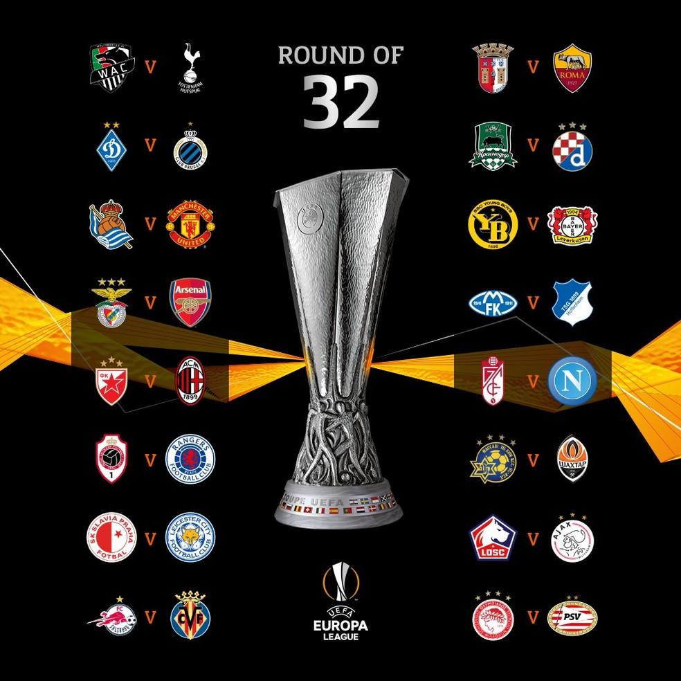 Liga Europa: Man Utd enfrenta o líder da La Liga, Real Sociedad