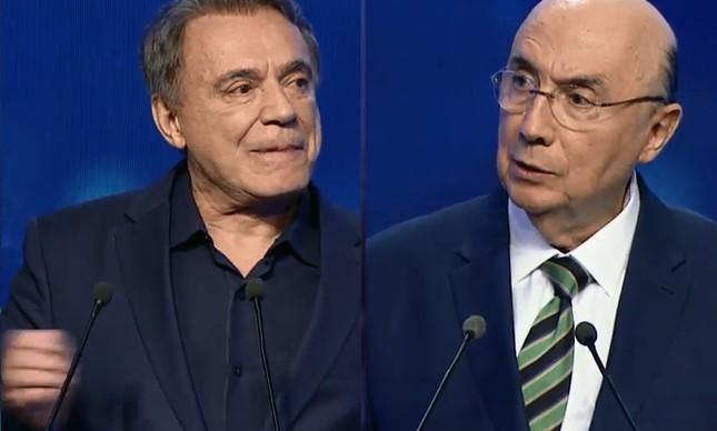 Alvaro Dias e Henrique Meirelles
