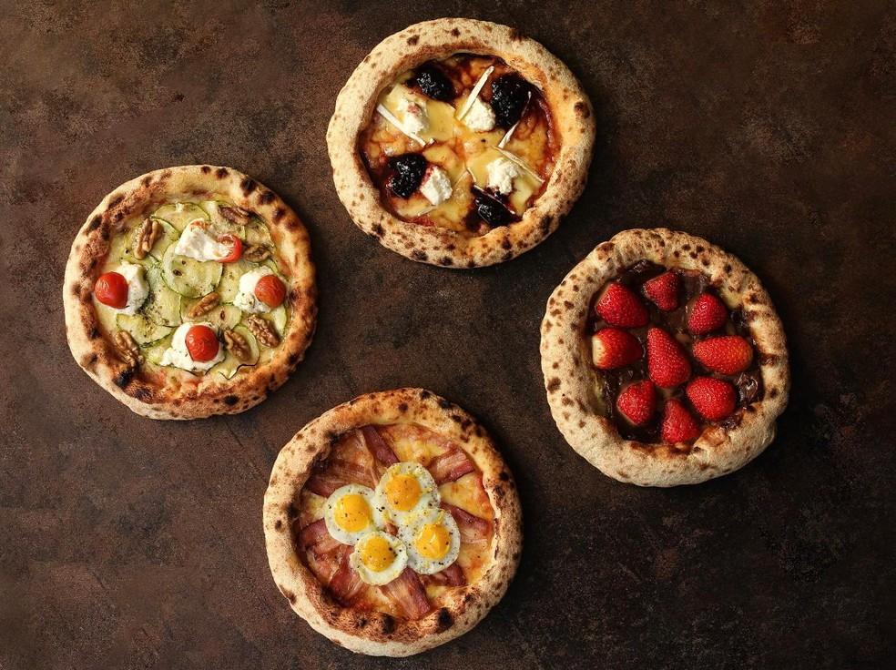 Pizzaria cria menu degustação para clientes comemorarem Dia da Pizza em casa — Foto: Divulgação
