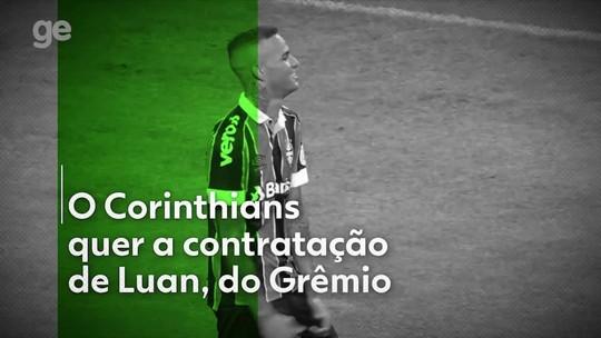 """Na mira do Corinthians, Luan, do Grêmio, jogará partida festiva na Arena a convite de Sheik: """"Vem ser feliz, irmão"""""""