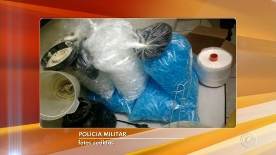 Polícia Militar fecha laboratório de refino de drogas em Salto