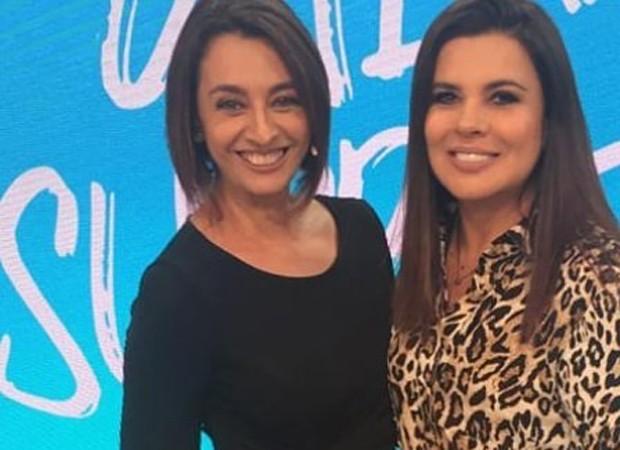 Cátia Fonseca e Mara Maravilha (Foto: Reprodução/Instagram)