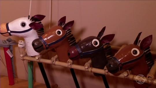Exposição de brinquedos antigos pode ser conferida em Paraty, RJ