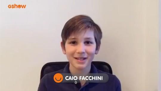 Caio Facchini recebe apoio de familiares e amigos para a grande final do 'Mini Stars'