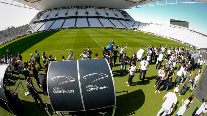 Corinthians lança tour guiado na arena  veja preços e horários disponíveis   22a9622752ba5