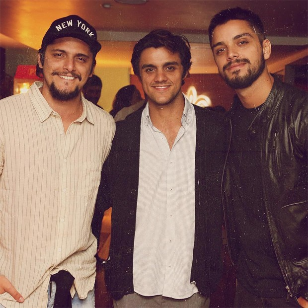 Bruno Gissoni, Felipe Simas e Rodrigo Simas (Foto: Reprodução/Instagram)