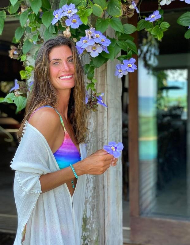 Isabella Fiorentino completou 44 anos (Foto: Arquivo pessoal)