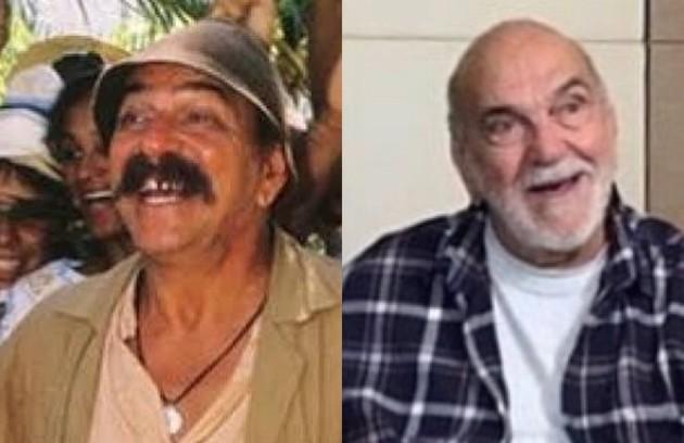 'O Salvador da Pátria' (1989) está em reprise no Viva. Lima Duarte foi o protagonista, o ingênuo Sassá Mutema. Aos 90 anos, o ator está escalado para 'Aruanas' (Foto: Globo e reprodução)