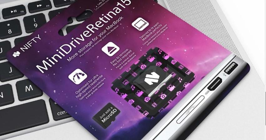 MiniDrive adiciona até 200 GB de espaço no seu MacBook