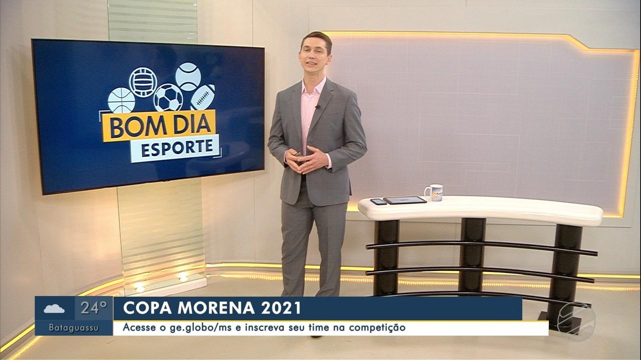 Inscrições para a Copa Morena 2021 seguem abertas