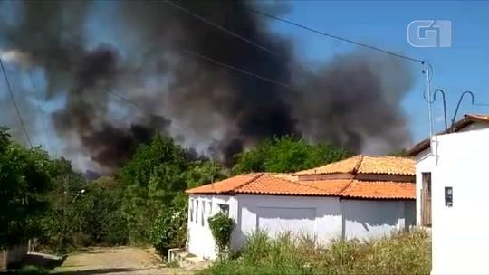 Incêndio atinge parque no interior do Piauí e empresário lamenta prejuízo ambiental