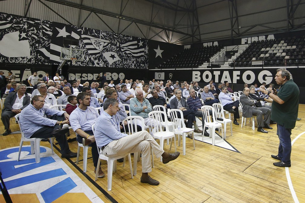 Botafogo teve debate sobre migração para o modelo de clube empresa — Foto: Vitor Silva/Botafogo
