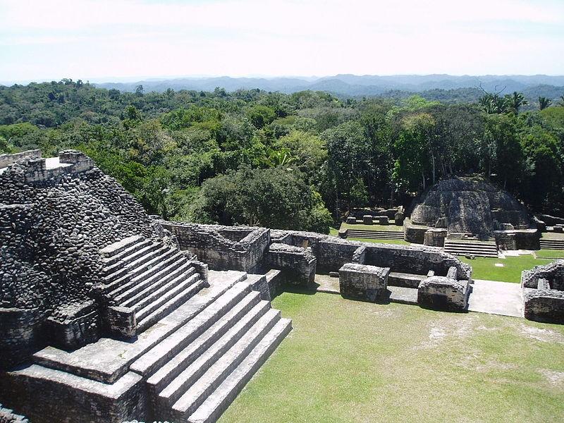 Ruína maia localizada na América Central (Foto: Wikimedia Commons)