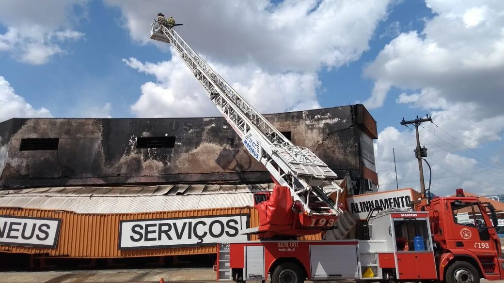 Prédio destruído por fogo tinha 25 anos em Porto Velho: 'Era minha loja xodó', diz empresário - Notícias - Plantão Diário