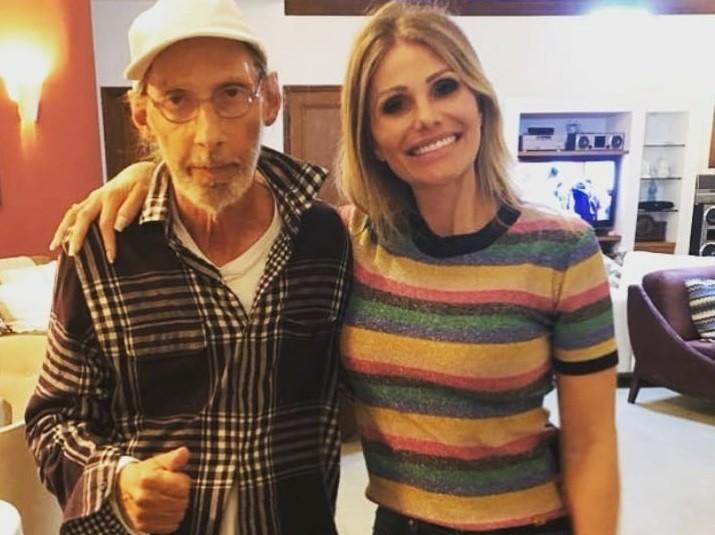 Arnaldo Saccomani e a filha Thais (Foto: Reprodução/Instagram)