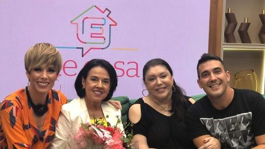 Ana Furtado e André Marques são surpreendidos pela visita das mães no 'É de Casa'