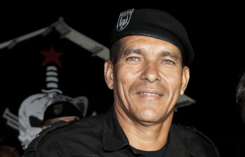 Tenente Josemar Farias está preso no Batalhão Ambiental, em Rio Branco  — Foto: Reprodução