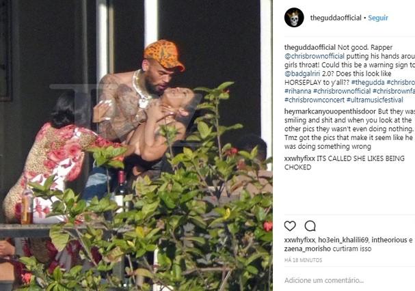Chris Brown (Foto: Instagram/Reprodução)